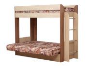Кровать двухъярусная Немо разложена