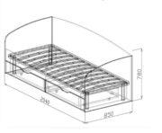 Кровать №16 схема