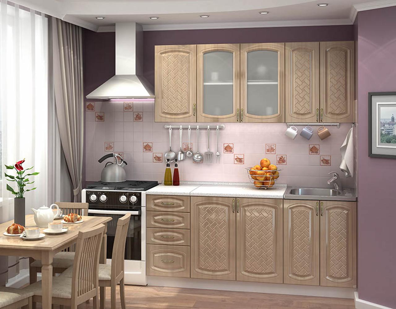 Кухонный гарнитур Сити 3