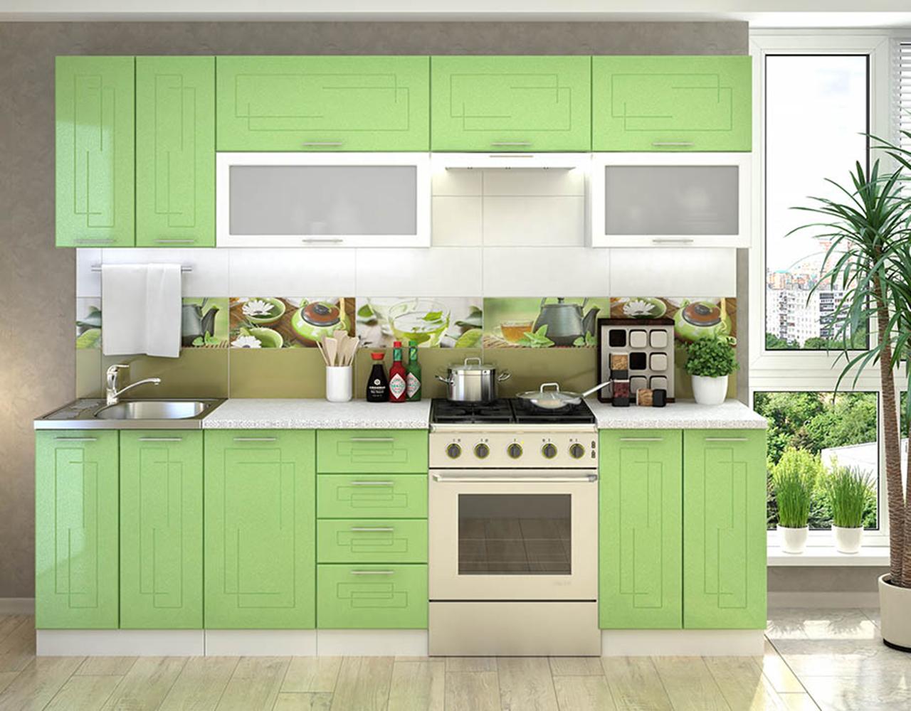 Кухонный гарнитур Вега 1