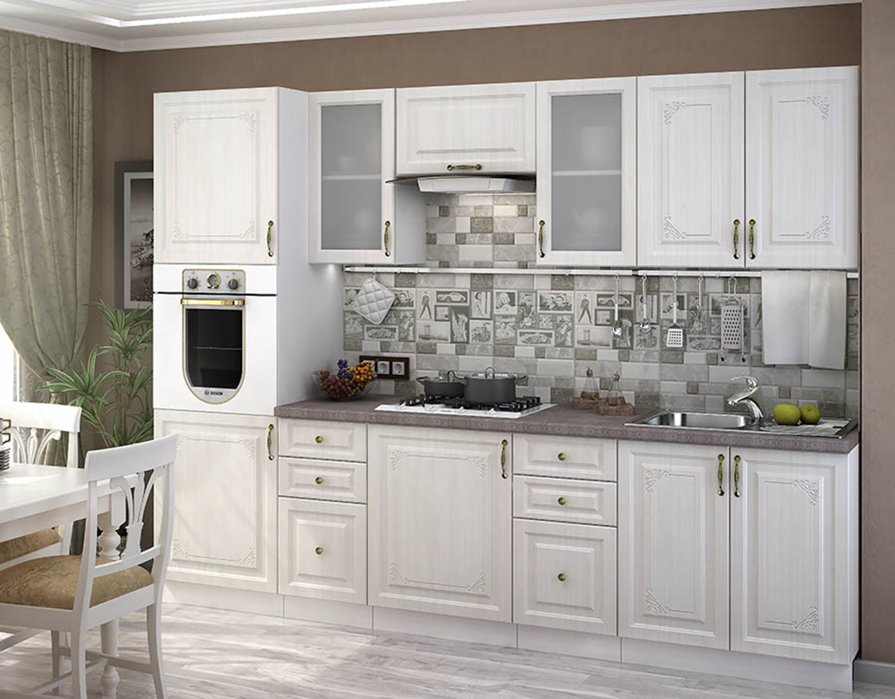 Кухонный гарнитур Виктория 4