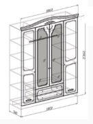Шкаф лира 4х схема