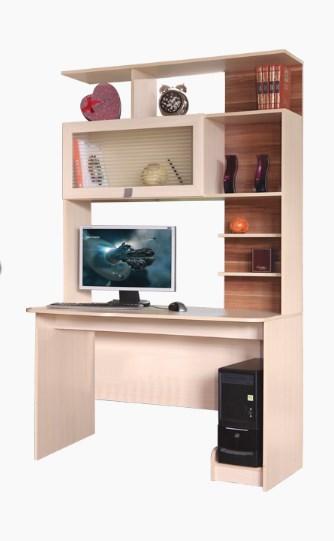 Стол Компьютерный с надстройкой №1