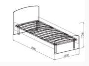 кровать №9 схема