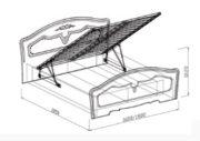 кровать Лира подъемная схема