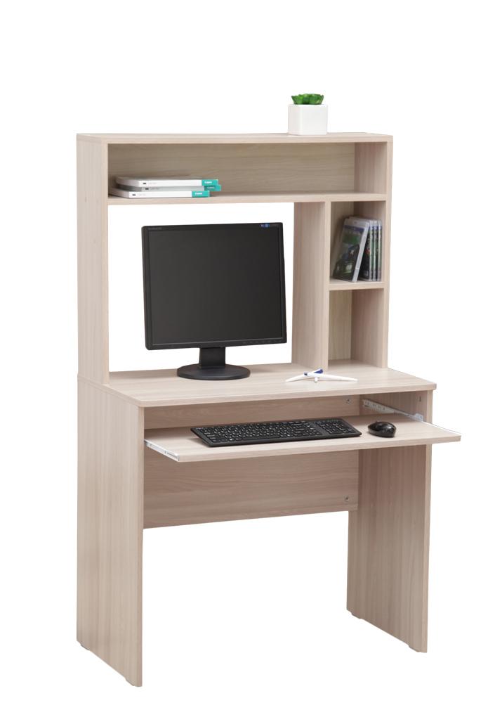Стол компьютерный с настольной полкой
