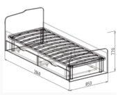 кровать 23 схема