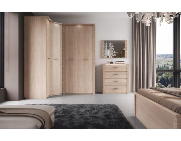 Модульная спальня Элана3 сонома