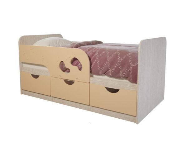 Кровать детская Минима Крем брюле
