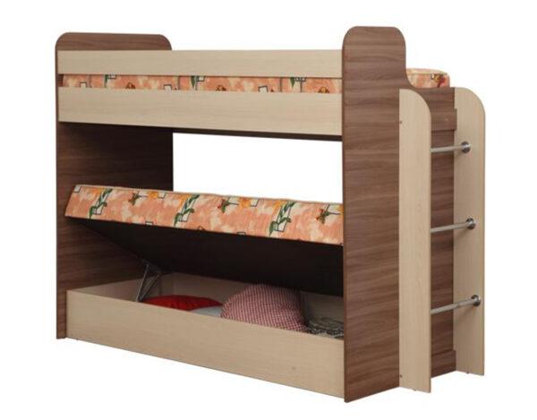 Кровать двухъярусная Адель-4 ящик