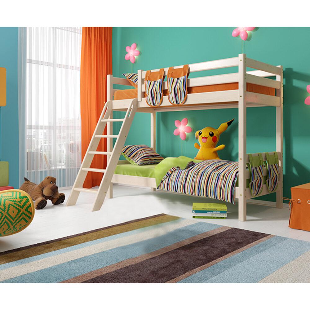 Вариант 10 Двухъярусная кровать Соня с наклонной лестницей