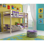 Вариант 9 Двухъярусная кровать Соня с прямой лестницей