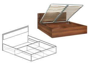 Кровать с подъёмным механизмом Линда
