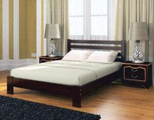 Кровать Вероника Орех тёмный