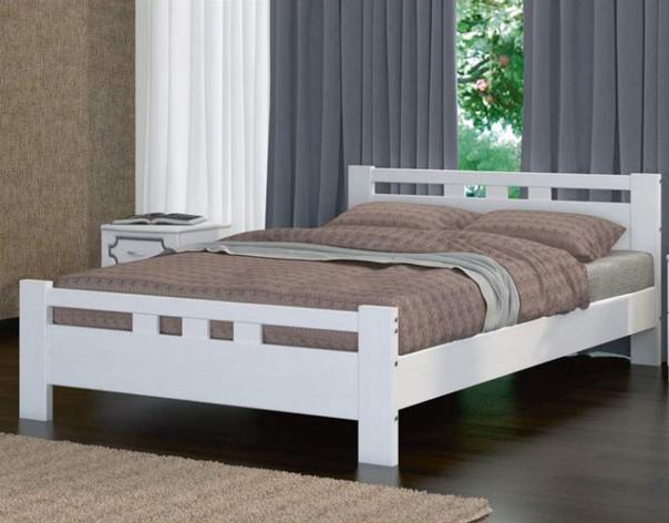 кровать Вероника 2 дуб беленый