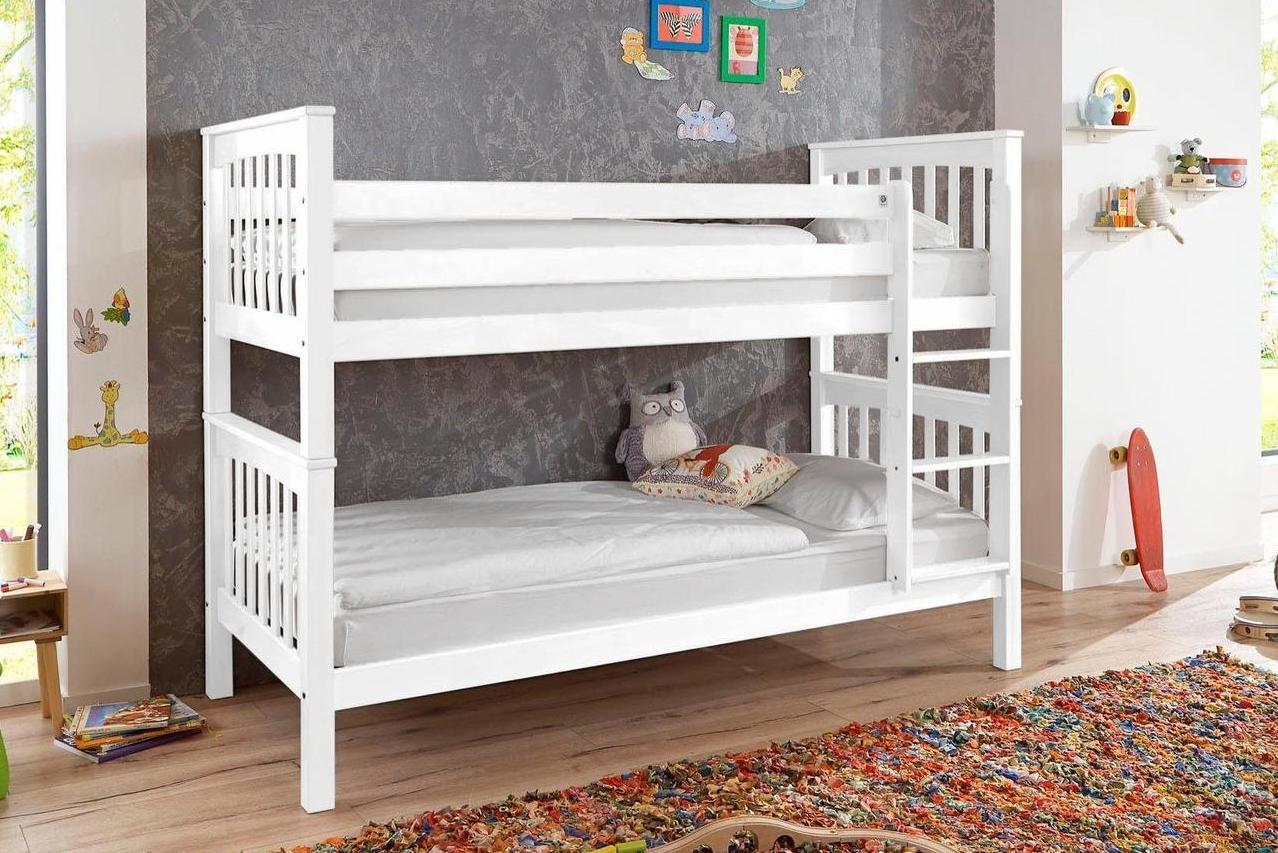 купить деревянную двухъярусную кровать