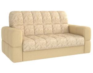 Прямой диван Марио пудра, велюр