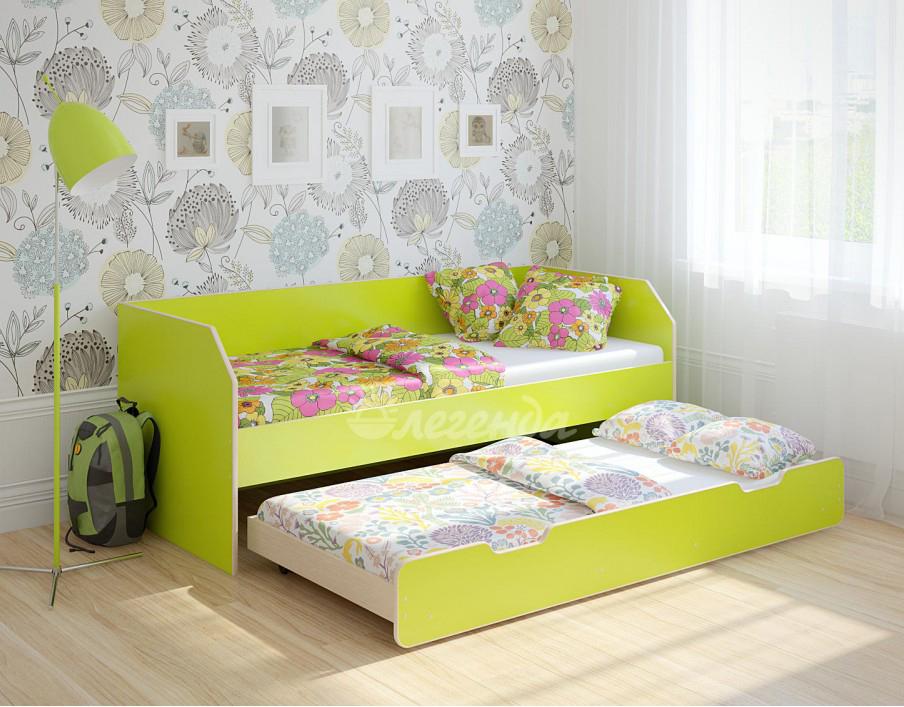 Двухъярусная кровать Легенда 13.2 лайм