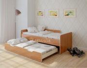Двухъярусная кровать Легенда 14.2 ольха