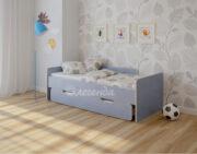 Двухъярусная кровать Легенда 14.2 венге светлый-голубой лён