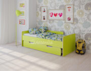 Двухъярусная кровать Легенда 14.2 венге светлый-лайм