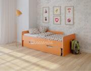 Двухъярусная кровать Легенда 14.2 венге светлый-оранжевый