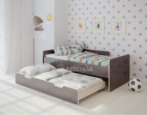 Двухъярусная кровать Легенда 14.2 венге светлый-венге тёмный