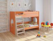 Двухъярусная кровать Легенда 25.1 венге светлый-оранжевый