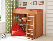 Кровать чердак Легенда 5.1 ольха