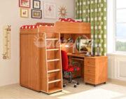 Кровать чердак Легенда 5.2 ольха