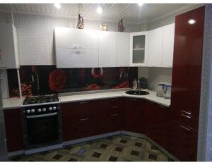 кухня пвх бордо
